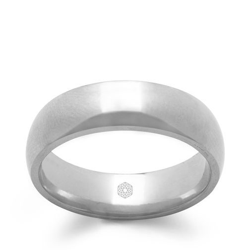Baird Mint 18ct White Gold Arctic 5mm Court Ring - Product number 3096300