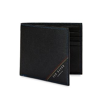 Ted Baker Hidd Men's Black Leather Wallet - Product number 3104443