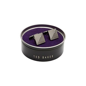 Ted Baker Small Crystal Cufflinks - Product number 3104648