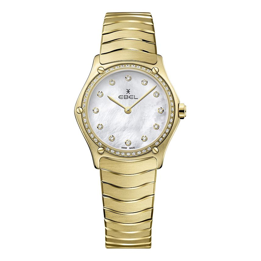 Ebel Sport Classic Diamond Ladies' 18ct Gold Bracelet Watch - Product number 3105636