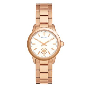 Tory Burch Ladies' Rose Gold Tone Bracelet Watch - Product number 3108228