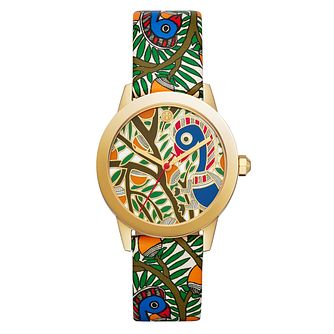 Tory Burch Ladies' Multi-Coloured Strap Leather Watch - Product number 3108252