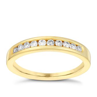 18ct Gold 0.25ct Diamond Eternity Ring - Product number 3109011