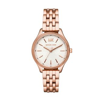 Michael Kors Lexington Ladies' Rose Gold Tone Bracelet Watch - Product number 3109186