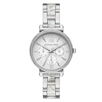 Michael Kors Sofie Ladies' Stainless Steel Bracelet Watch - Product number 3109534