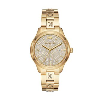 Michael Kors Runway Ladies' Gold Tone Bracelet Watch - Product number 3112497
