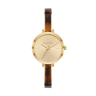 b78a7ffb9731 Michael Kors Jaryn Ladies  Gold tone Metal Bracelet Watch - Product number  3112519