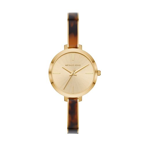 Michael Kors Jaryn Ladies' Gold tone Metal Bracelet Watch - Product number 3112519