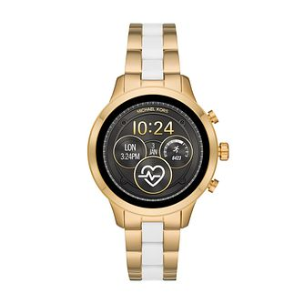 Michael Kors Runway Gen 4 Two Tone Bracelet Smartwatch - Product number 3112993