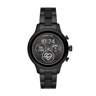 Michael Kors Runway Gen 4 Black Stainless Steel Smartwatch - Product number 3113027