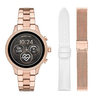 Michael Kors Access Runway Gen 4 Ladies' Smartwatch Gift Set - Product number 3113302