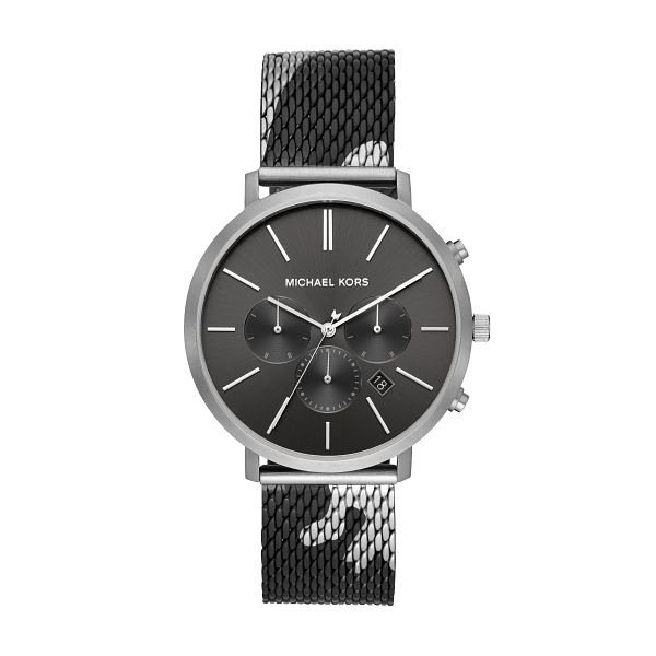Michael Kors Blake Men's Black Camo Mesh Bracelet Watch - Product number 3113485