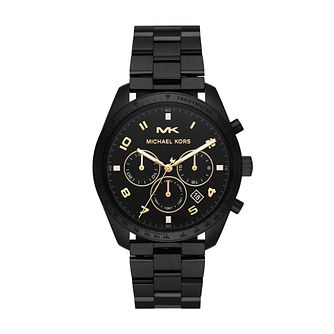 Michael Kors Keaton Men's Black Ip Bracelet Watch - Product number 3114112