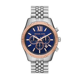 Michael Kors Lexington Men's Two Tone Bracelet Watch - Product number 3114295
