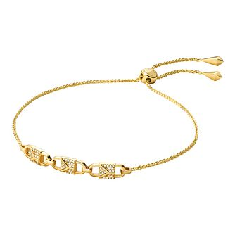 Michael Kors Mercer Link Yellow Gold Tone Bracelet - Product number 3114414