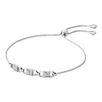 Michael Kors Mercer Link Sterling Silver Bracelet - Product number 3114422