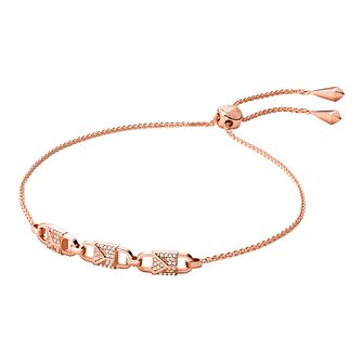 Michael Kors Mercer Link Rose Gold Tone Bracelet - Product number 3114848
