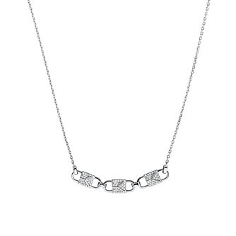 Michael Kors Mercer Link Sterling Silver Necklace - Product number 3115577