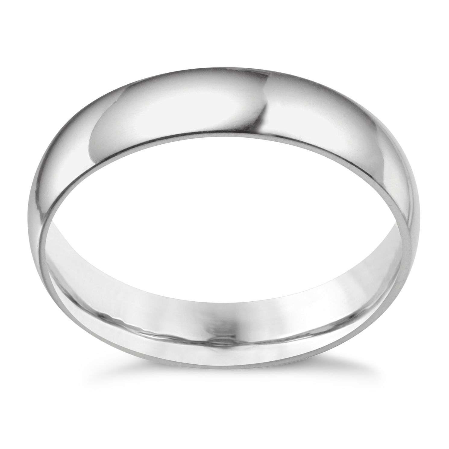 Platinum 5mm Extra Heavyweight Court Ring - Product number 3121496