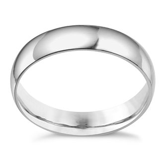 Platinum 5mm extra heavyweight court ring? - Product number 3121496