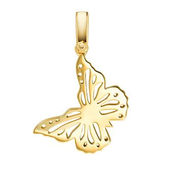Michael Kors Yellow Gold tone Butterfly Premium Charm - Product number 3128229