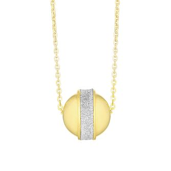 9ct Yellow Gold Ball Sparkle Pendant - Product number 3142434