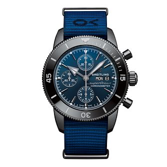 Breitling Superocean Heritage Ii Outerknown Blue Strap Watch - Product number 3146537