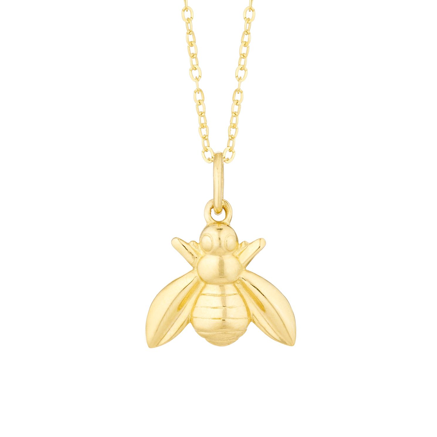 9ct Yellow Gold Bee Pendant - Product number 3154459