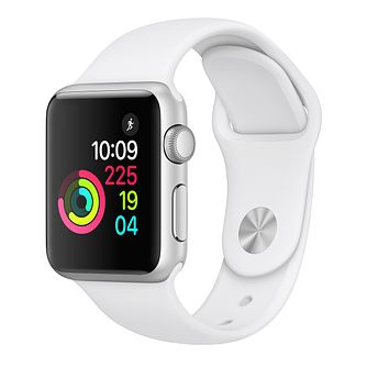 Apple Watch Series 3 42mm Silver Case with White Sport Band - Product number 3156850