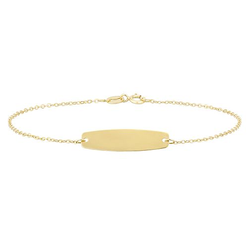 Kids' 9ct Yellow Gold ID Bracelet - Product number 3157032