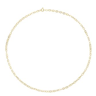 9ct Yellow Gold Chain Necklace - Product number 3165116