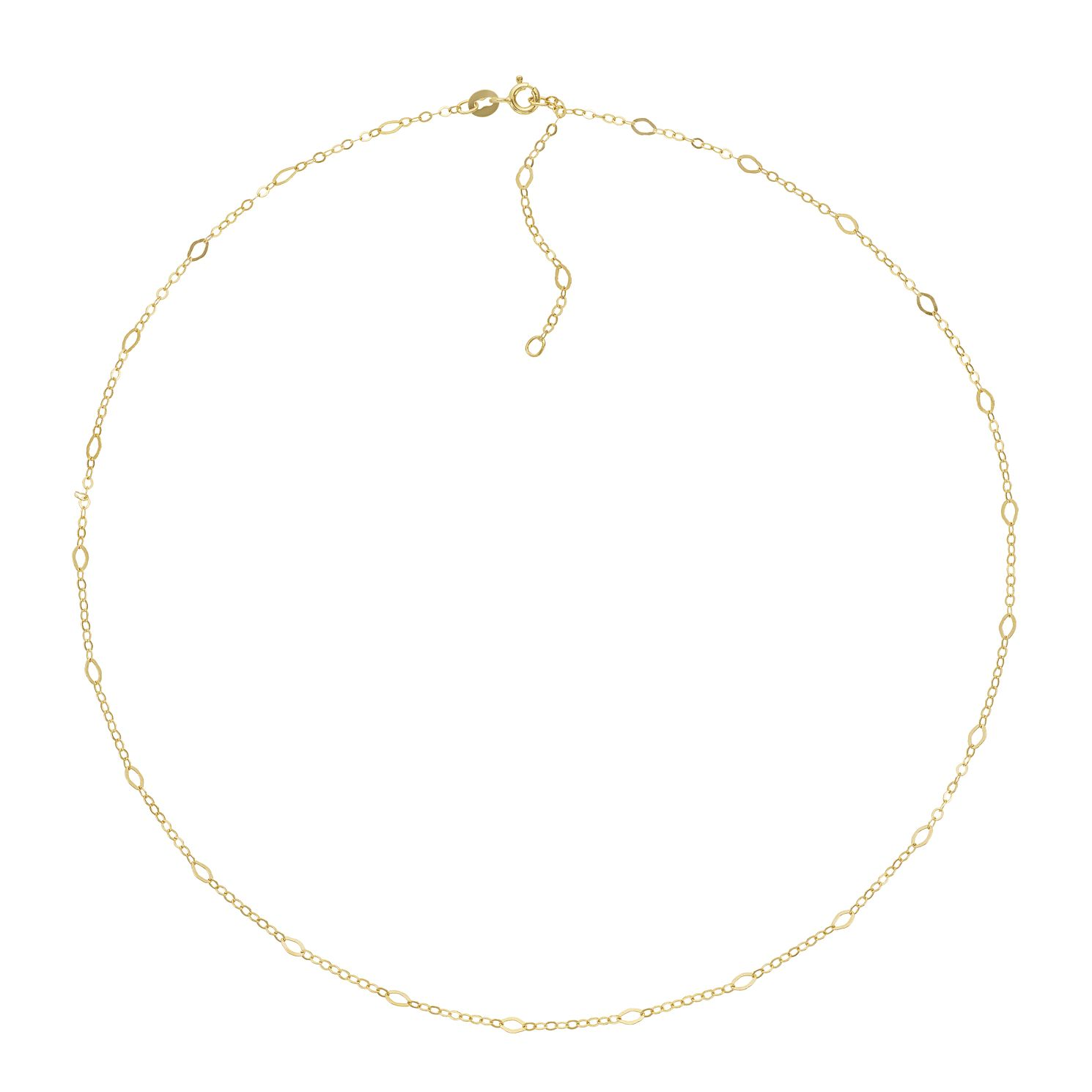 9ct Yellow Gold Fancy Chain Necklace - Product number 3165310