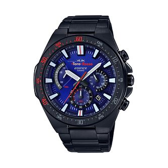 Casio Edifice Men's Toro Rosso IP Steel Bracelet Watch - Product number 3166376