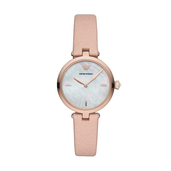 Emporio Armani Arianna Ladies' Rose Gold Tone Bracelet Watch - Product number 3166422