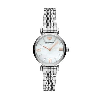 0320e2a1f5b Emporio Armani Gianni T-Bar Stainless Steel Bracelet Watch - Product number  3166457