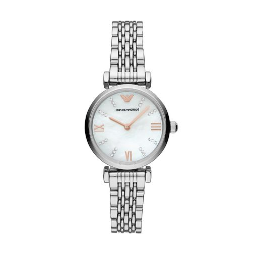 Emporio Armani Gianni T-Bar Stainless Steel Bracelet Watch - Product number 3166457