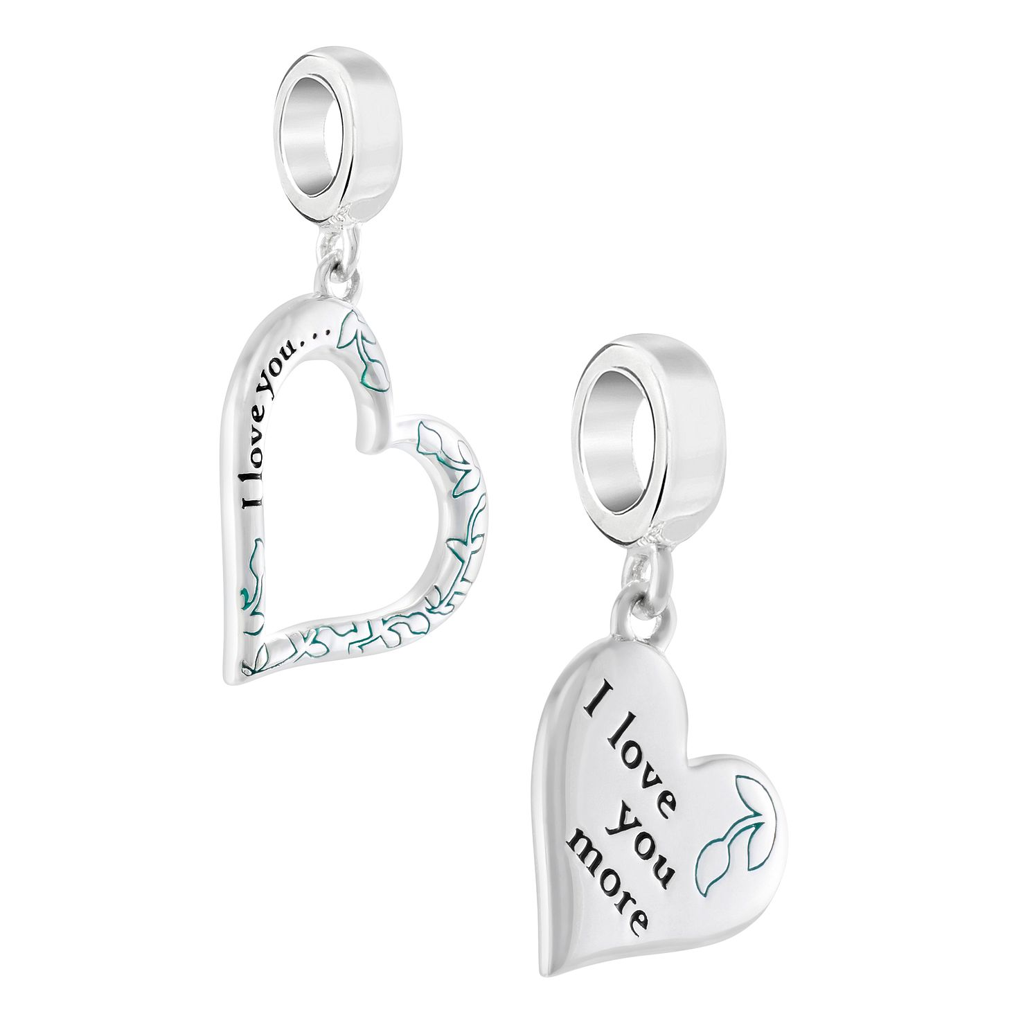 Chamilia I Love You, I Love You More Set of 2 Charms - Product number 3171701