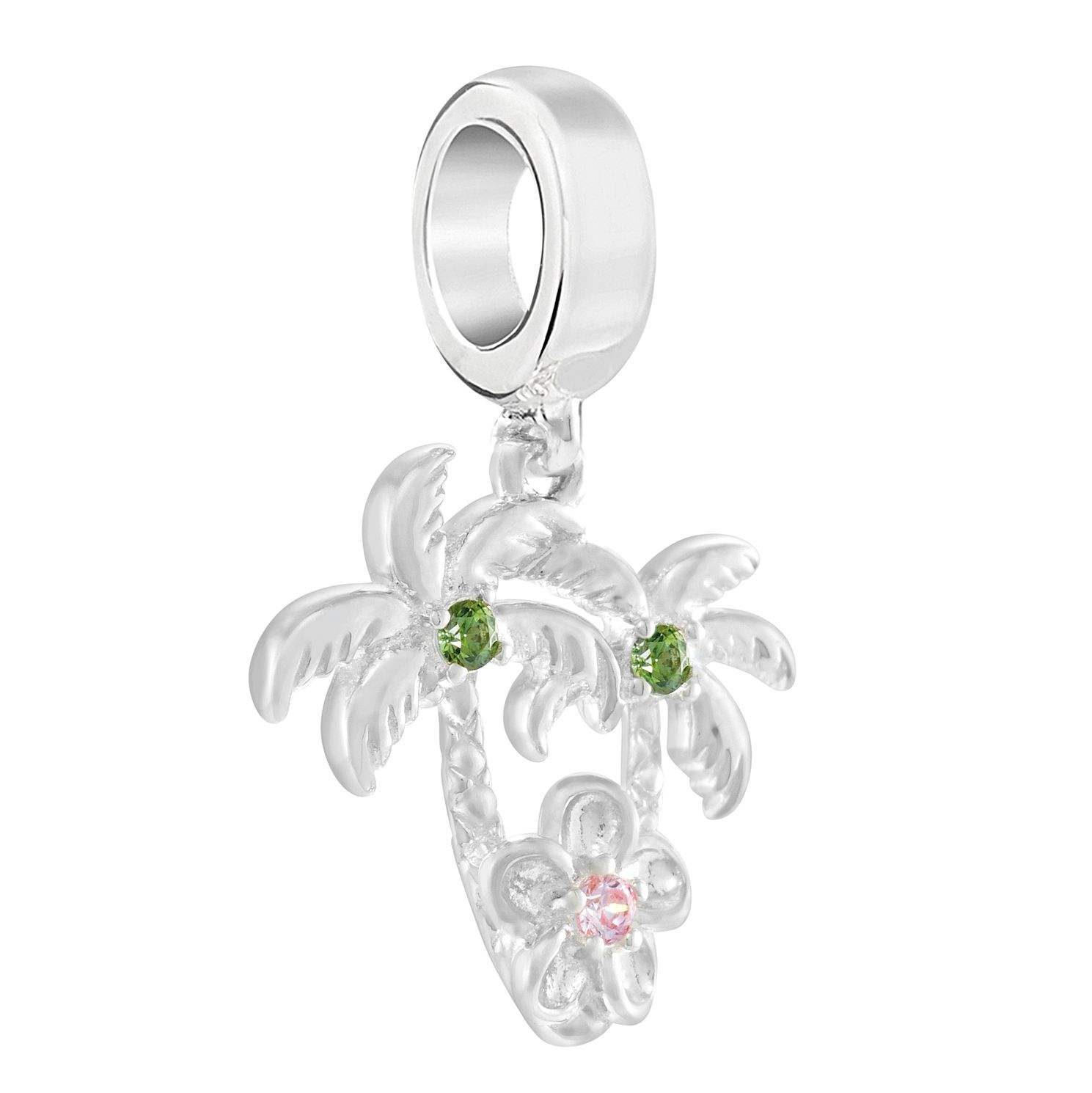 Chamilia Plumeria Palm Trees Morganite Charm - Product number 3171957