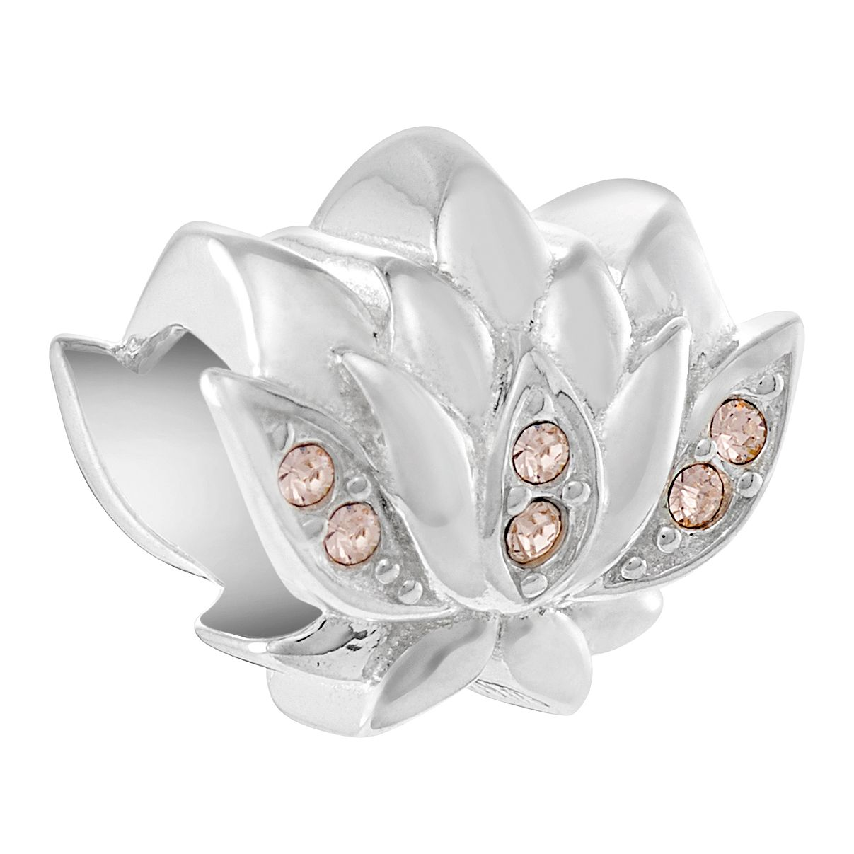 Chamilia Sculpted Lotus Charm - Product number 3171965