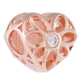 Chamilia Blush Love Heart Charm - Product number 3172090