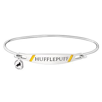Chamilia Harry Potter Hufflepuff Bangle - Yellow Enamel, S/M - Product number 3172260