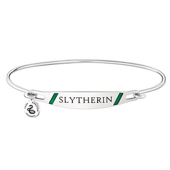 Chamilia Harry Potter Slytherin Bangle - Green Enamel, S/M - Product number 3172287