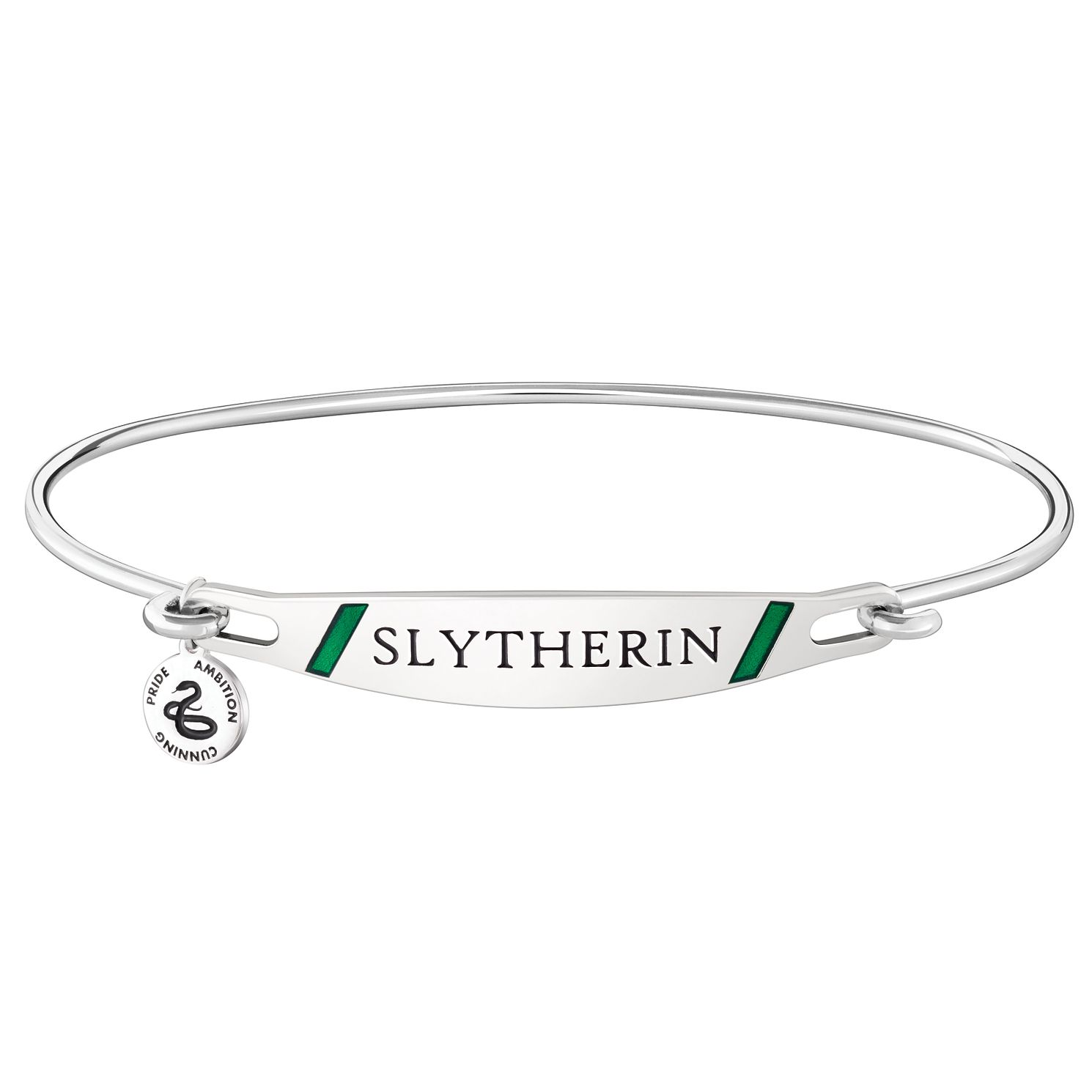 Chamilia Harry Potter Slytherin Bangle - Green Enamel, M/L - Product number 3172295