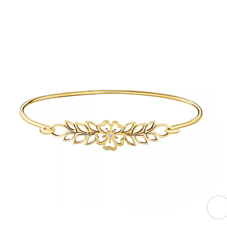 Chamilia Open Hibiscus ID Bangle - S/M - Product number 3172368