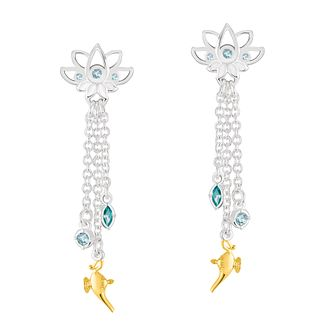Chamilia Disney Aladdin Lotus Chain Drop Earrings - Product number 3172651