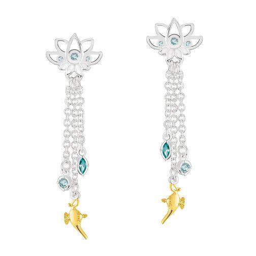 b5757021c137f Chamilia Disney Aladdin Lotus Chain Drop Earrings