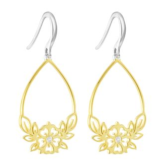 Chamilia Open Hibiscus Drop Earrings - Product number 3172686