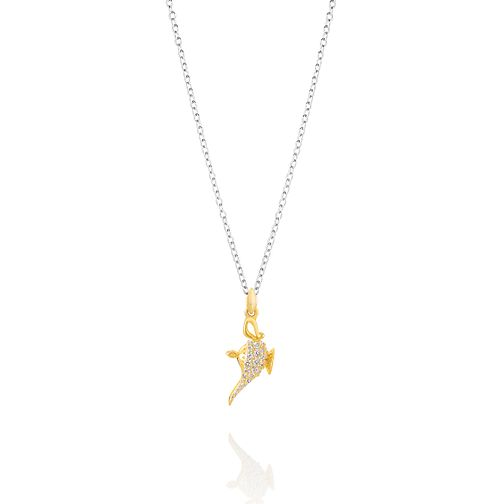 Chamilia Disney Aladdin Pave Genie Lamp Necklace - Product number 3172716