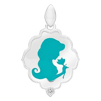 Chamilia Disney Aladdin Jasmine Silhouette Necklace - Product number 3172759