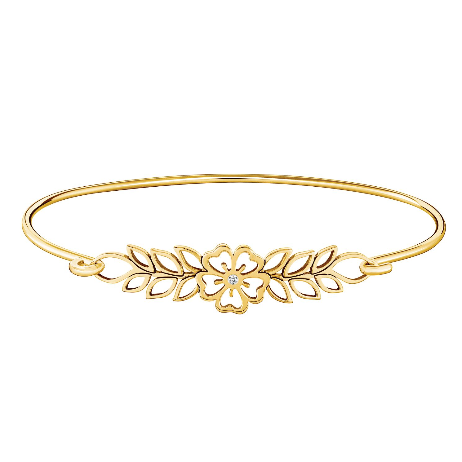 Chamilia Open Hibiscus Id Bangle - M/L - Product number 3175081